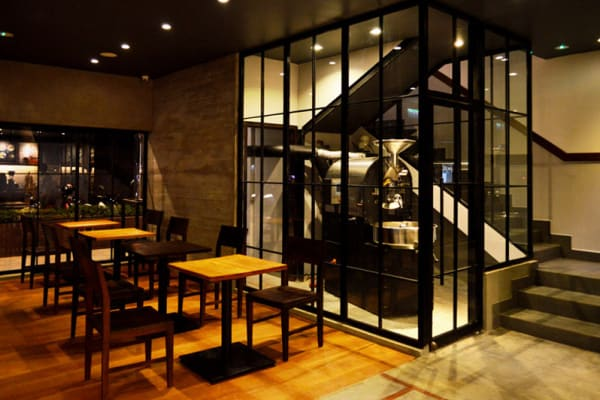 Joma cafe interior | Phnom Penh | @collective studio