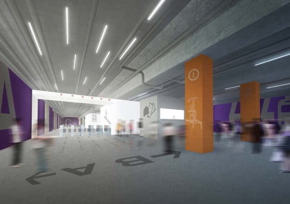 Proposal for new interior of Beijing subway | Beijing | @crossboundaries architects