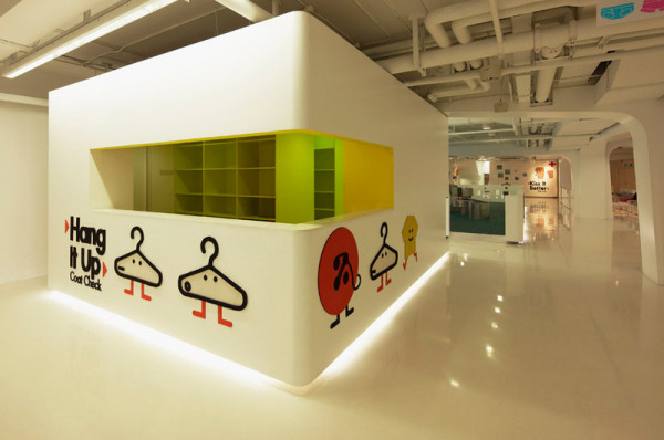 Interio  design for Kiddie Town | Beijing | @crossboundaries architects